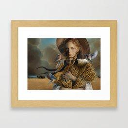HARVEST by artist Juliana Loomer Framed Art Print