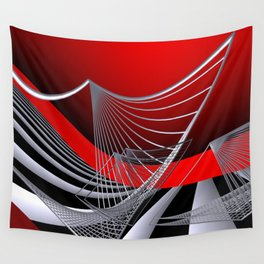 experiments on geometry -11- Wall Tapestry