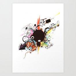 Custom Jip Art Print