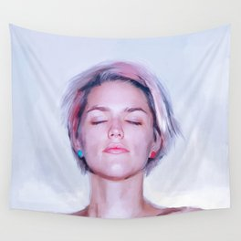 The Young Pixie Girl Wall Tapestry