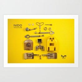 Break up a NIDO Art Print