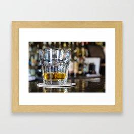 Sip and Savor Framed Art Print