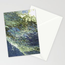 Ebb and Flow Ocean Waves Stationery Cards