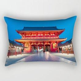 Senso-ji Temple in Asakusa, Tokyo Rectangular Pillow