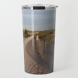 Walkway to the South Jetty Travel Mug