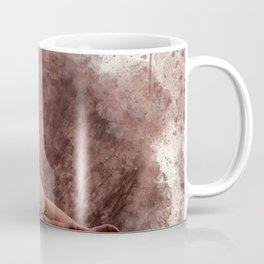 Nude woman watercolor vintage Coffee Mug