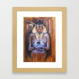 For you, I've Jarred the Cosmos Framed Art Print