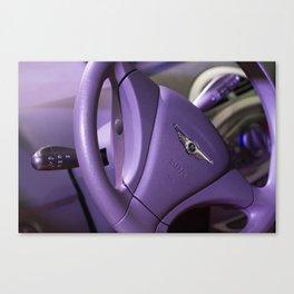 Chery S-18 Reev Electric Steering Wheel Canvas Print
