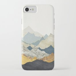 Distant Peaks iPhone Case