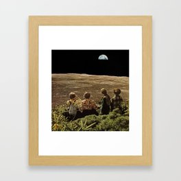 they watched Framed Art Print