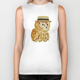 Dapper Owl or Owl Capone? Biker Tank
