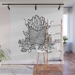 Pomme Frites Wall Mural