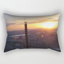 Sunset in Seoul Rectangular Pillow