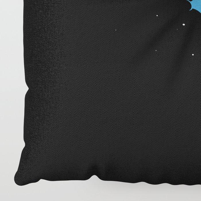 Skydiver Floor Pillow