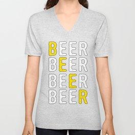 Cool Beer Design Unisex V-Neck