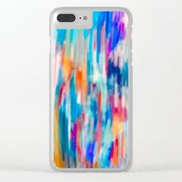 Splotch Board Clear iPhone Case