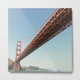 Going My Way In San Francisco Bay Metal Print