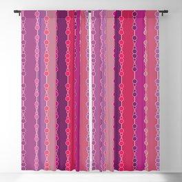 Multi-faceted decorative lines 2 Blackout Curtain