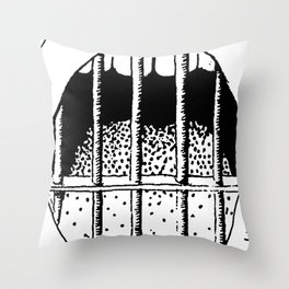 Freedom of Expression 1 of 3 Throw Pillow