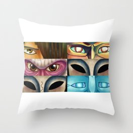 If You Must Blink Throw Pillow
