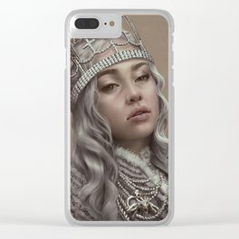 You should see me in a crown Clear iPhone Case