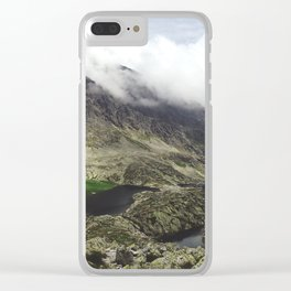 Breathtaking Alpine Lakes In The High Tatras Clear iPhone Case