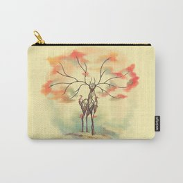 Essence of Nature - A Deer's Echo Carry-All Pouch
