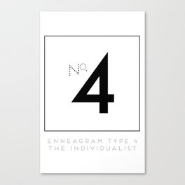 4 THE INDIVIDUALIST Canvas Print