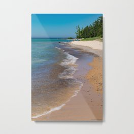 Lake_Michigan Beach, Charlevoix - III Metal Print