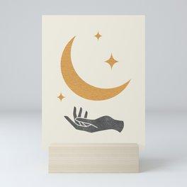 Moonlight Hand Mini Art Print