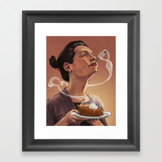 Hedonic Hunger Framed Art Print