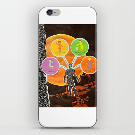 The Universal Four Habits iPhone & iPod Skin