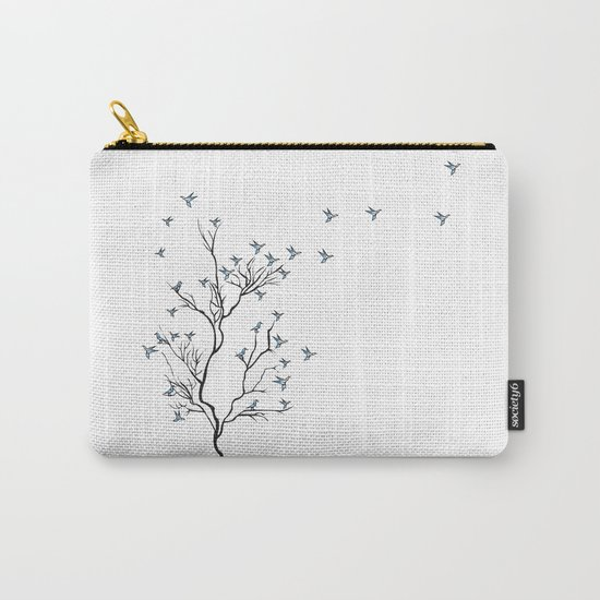 The Bird Tree Carry-All Pouch