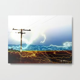 Power Baby, Power by D. Porter Metal Print