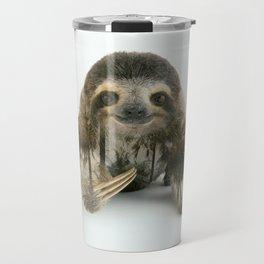 Arctic Sloth Travel Mug
