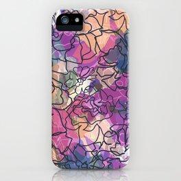 Tapestry Batik iPhone Case