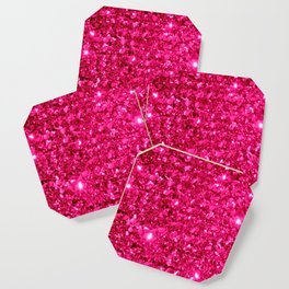 SparklE Hot Pink Coaster