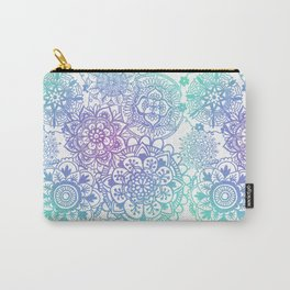 Pastel Mandala Pattern Carry-All Pouch