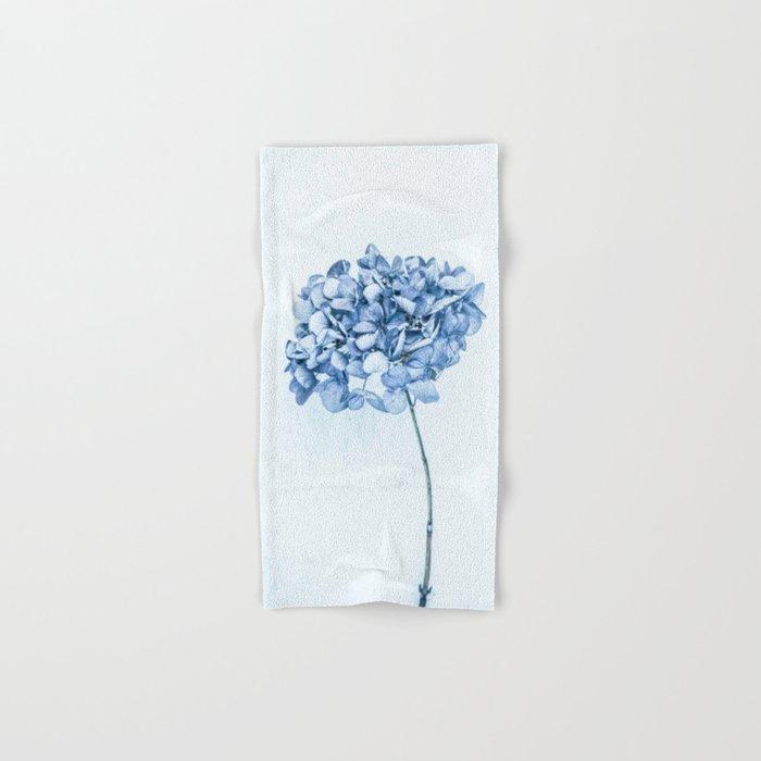 Hydrangea Blue 2 Hand Bath Towel By Mariaheyens Society6