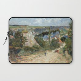 Entrance to the Village of Osny by Paul Gauguin Laptop Sleeve