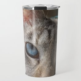 Icy Stare Travel Mug