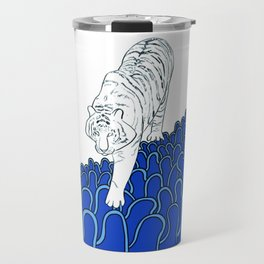 Korea surf art series_ guardian of the sea Travel Mug