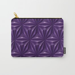 Engraved Surface Ultraviolet Carry-All Pouch