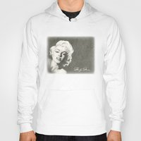 monroe Hoodies featuring Monroe by Brittany Shively
