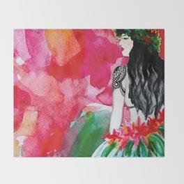 Polynesia Throw Blanket
