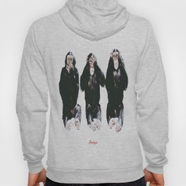 The three wise monkeys Hoody