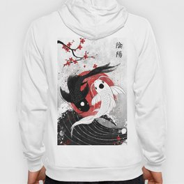 Koi fish - Yin Yang Hoody