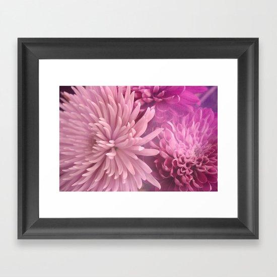 Pink Hour Framed Art Print