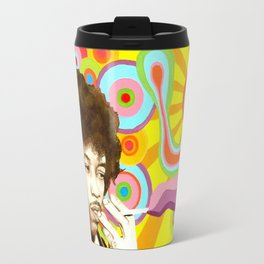 Jimi Hendrix (Peace & Love) Travel Mug