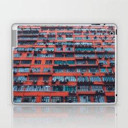 Red HongKong Laptop & iPad Skin